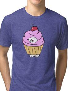 Ice Bear likes Cupcakes Tri-blend T-Shirt