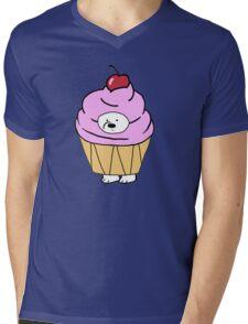 Ice Bear likes Cupcakes Mens V-Neck T-Shirt