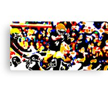 Touchdown Irish Canvas Print