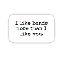 Bands > You Sticker
