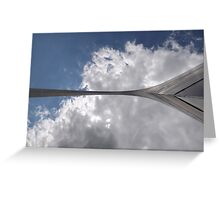 Gateway Arch Unique View Greeting Card
