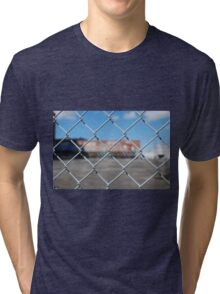 Graffiti Beyond A Fence Tri-blend T-Shirt