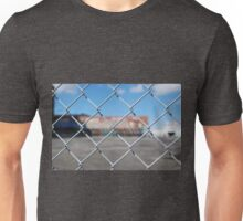 Graffiti Beyond A Fence Unisex T-Shirt