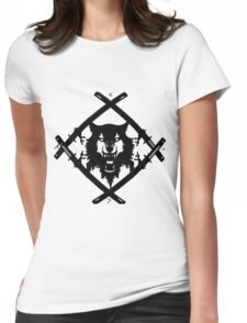 Xavier Wulf Womens Fitted T-Shirt