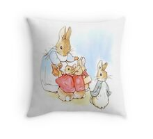 Peter Rabbit 003 Throw Pillow
