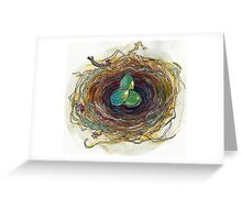 Layered Nest Greeting Card