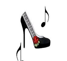¸.•*•♪ღ♪¸.•*¨¨SAMSUNG GALAXY IPHONE CASE~~PIANO KEYS HIGH HEEL STEPPING TO THE BEAT¸.•*•♪ღ♪¸.•*¨¨  by ✿✿ Bonita ✿✿ ђєℓℓσ