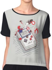Mario - Game Boy Chiffon Top