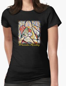 Hartley - Musical Theme Womens Fitted T-Shirt
