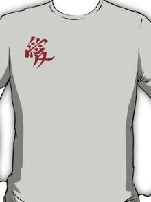 Gaara (Love) In red T-Shirt
