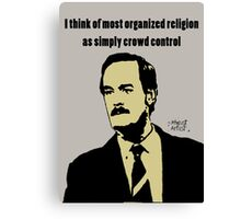 John Cleese against organized religion Canvas Print