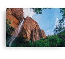 Waterfall Amazing View Canvas Print