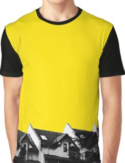 Rowhouse Tops | Yellow Graphic T-Shirt