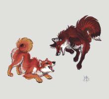 Lookalikes: Shiba & Fox by Mayra Boyle