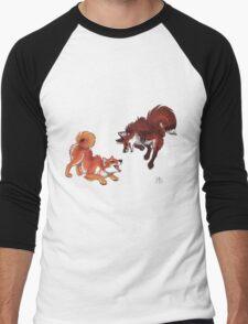 Lookalikes: Shiba & Fox Men's Baseball ¾ T-Shirt