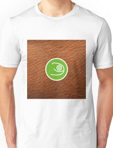 Opensuse with leather texture Unisex T-Shirt