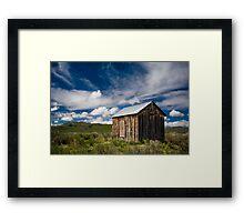 Prairie Shed Framed Print