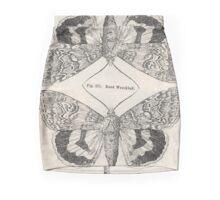 'Rood weeskind' collage Mini Skirt