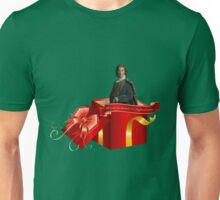 All I want for Christmas is a Highland warrior!  Unisex T-Shirt