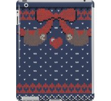 A Lazy Winter Sweater iPad Case/Skin