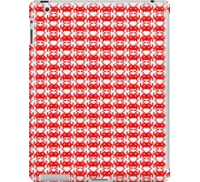 Space Invader In Red iPad Case/Skin