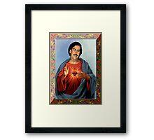 Saint Pablo Escobar Framed Print