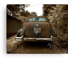 Abandoned 1948 Cadillac Limo Canvas Print