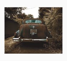 Abandoned 1948 Cadillac Limo One Piece - Short Sleeve