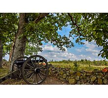 Gettysburg Cannon Photographic Print