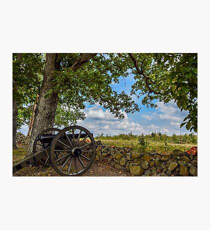 Gettysburg Cannon Photographic Print