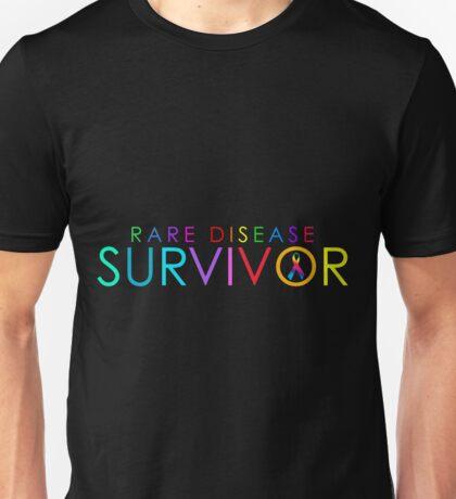 Rare Disease Survivor Unisex T-Shirt