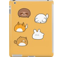 Cute Animal Blobs! iPad Case/Skin