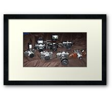 Camera addiction... Framed Print