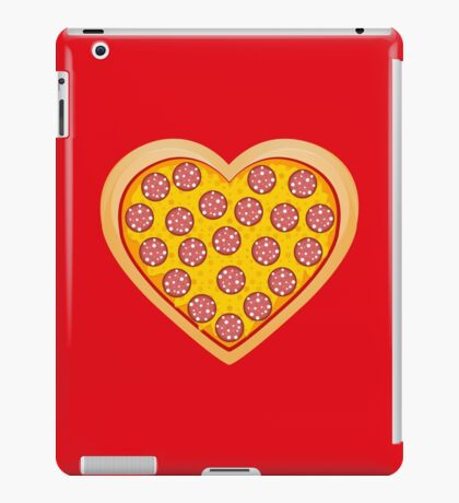 I LOVE PIZZA iPad Case/Skin