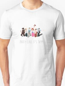 Party Like It's 1899 - for white things! T-Shirt