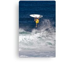 Kelly Slater at 2010 Billabong Pipe Masters In Memory Of Andy Irons Canvas Print