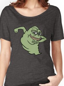 RARE PEPE Ghostbusters Women's Relaxed Fit T-Shirt