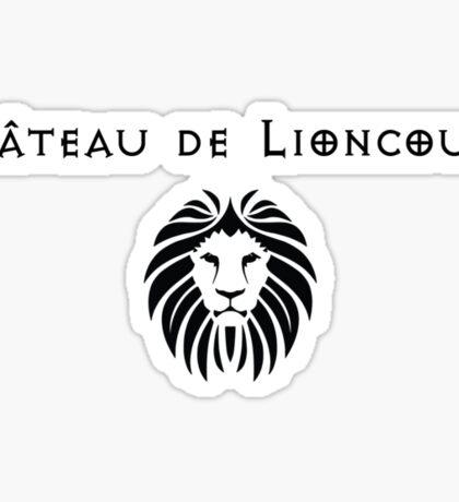 Chateau De Lioncourt Sticker