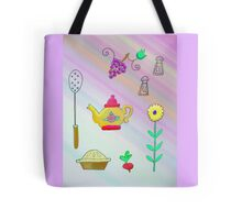 Teapot and pie Tote Bag