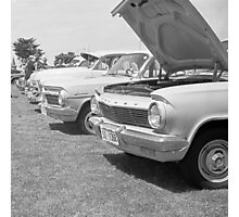 Classic Holdens in a Row Photographic Print