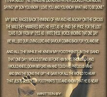 ❤ † ❤ † DOES JESUS SEE MY FOOTPRINTS.. I JUST FINISHED WRITTING THIS POEM ❤ † ❤ † by ╰⊰✿ℒᵒᶹᵉ Bonita✿⊱╮ Lalonde✿⊱╮