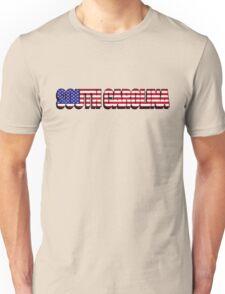 South Carolina United States of America Flag Unisex T-Shirt