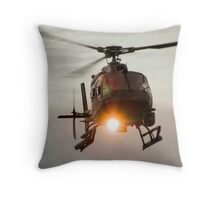 ABC Helicopter Throw Pillow