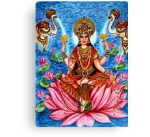 Goddess Lakshami Canvas Print