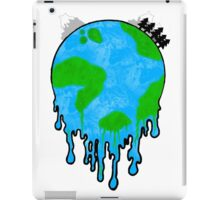 Melting World. iPad Case/Skin
