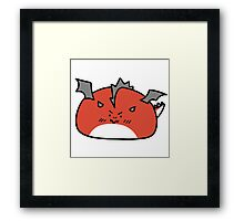 Dragon Blob Framed Print