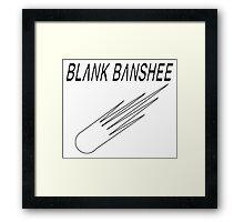 Blank Banshee Mega Minimal Framed Print
