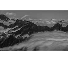 Clouds Above the Cascades Photographic Print