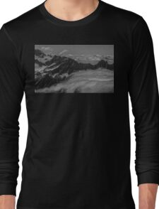 Clouds Above the Cascades Long Sleeve T-Shirt
