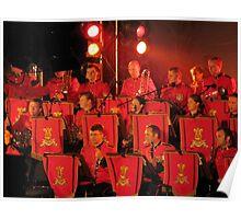 Army Band at Hobart Regatta Poster